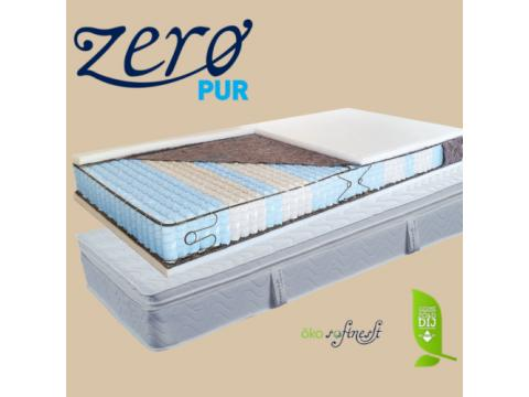 Billerbeck San Remo élkeretes tasakrugós  kókusz / latex rétegezett topper + matrac Táskarugós matracok Szélesség: 90 Hosszúság: 200