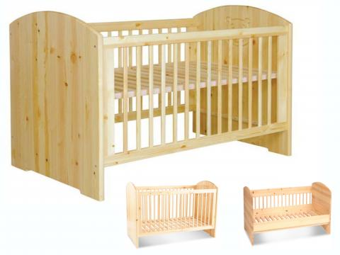 Álom (kombi) babaágy, Kategória:Gyerekágyak, Szélesség:70cm Hosszúság:140cm Magasság:cm