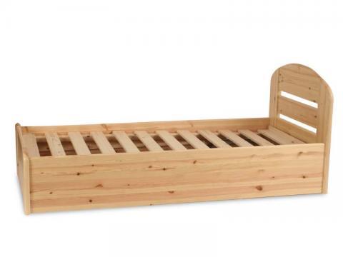 Anikó ágyneműtartós ágy 90x200, Kategória:Fenyő ágyak, Szélesség:90cm Hosszúság:200cm Magasság:cm