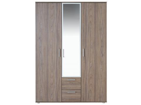 Box BO-1-T 3 ajtós tükrös szekrény, Kategória:Szekrények, Szélesség:137cm Hosszúság:52cm Magasság:196cm