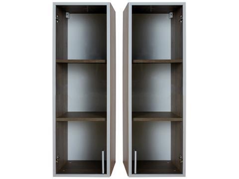 Box BO-5Ü-B/J üvegajtós faliszekrény, Kategória:Szekrények, Szélesség:36cm Hosszúság:35cm Magasság:110cm