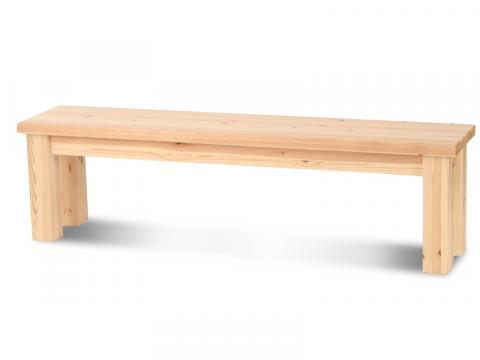 Claudia étkező pad nagy, Kategória:Egyéb bútorok, Szélesség:26cm Hosszúság:165cm Magasság:35cm