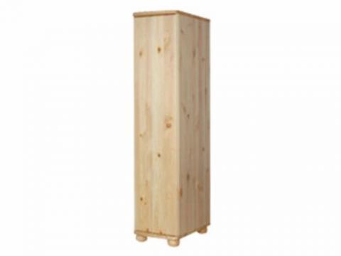Claudia félszekrény polcos 62 mély, Kategória:Fenyő szekrények, Szélesség:180cm Hosszúság:40cm Magasság:62cm