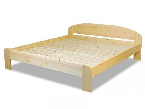 Claudia ágykeret 200X200, Kategória:Fenyő ágyak, Szélesség:200cm Hosszúság:200cm Magasság:70cm