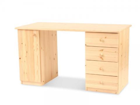 Claudia íróasztal, Kategória:Egyéb bútorok, Szélesség:74cm Hosszúság:132cm Magasság:62cm