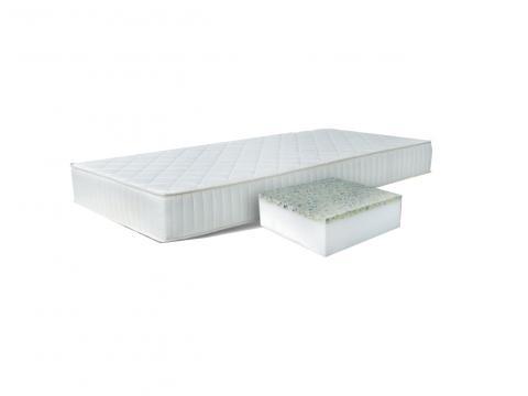 Comfort Sleep Alfa mem. VM 200x200 cm memory matrac Violet huzattal, Kategória:Memory matracok, Szélesség:200cm Hosszúság:200cm Magasság:14cm