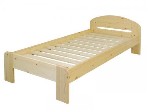 Éva ágykeret 90x200, Kategória:Fenyő ágyak, Szélesség:90cm Hosszúság:200cm Magasság:76cm