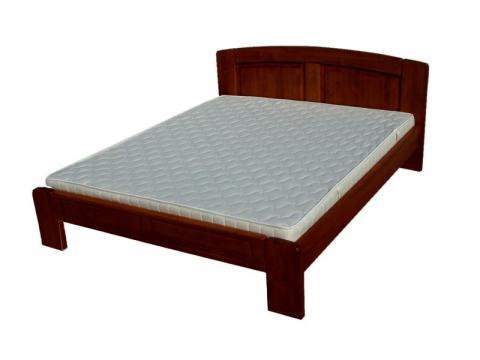 Kristóf 140x200 pácolt bükk ágykeret, Kategória:Ágykeretek, Szélesség:140cm Hosszúság:200cm Magasság:86cm