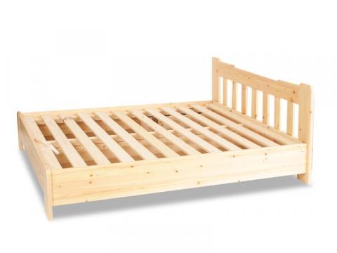 Leo ágyneműtartós ágy 140x200 gázrugós, Kategória:Fenyő ágyak, Szélesség:140cm Hosszúság:200cm Magasság:cm
