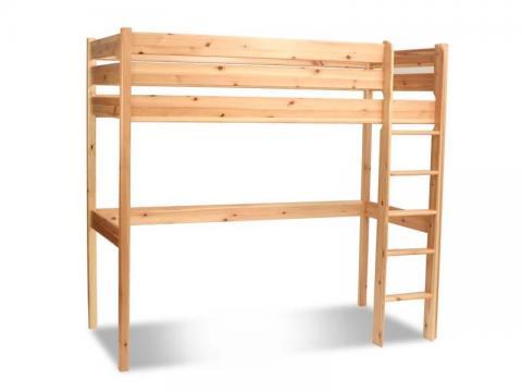 Leo galéria ágy, Kategória:Emeletes és galériaágyak, Szélesség:90cm Hosszúság:200cm Magasság:190cm