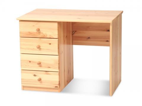 Marcus íróasztal 4 fiókos 110 széles, Kategória:Egyéb bútorok, Szélesség:73cm Hosszúság:110cm Magasság:61cm