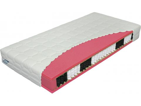Materasso Antibakterial Bio Ex 120x200 cm táskarugós matrac, Kategória:Táskarugós matracok, Szélesség:120cm Hosszúság:200cm Magasság:23cm