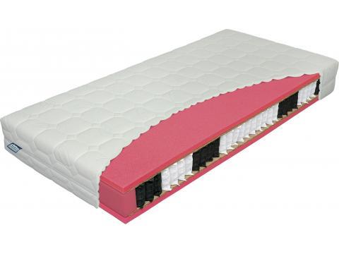 Materasso Antibakterial Bio Ex 80x200 cm táskarugós matrac, Kategória:Táskarugós matracok, Szélesség:80cm Hosszúság:200cm Magasság:23cm
