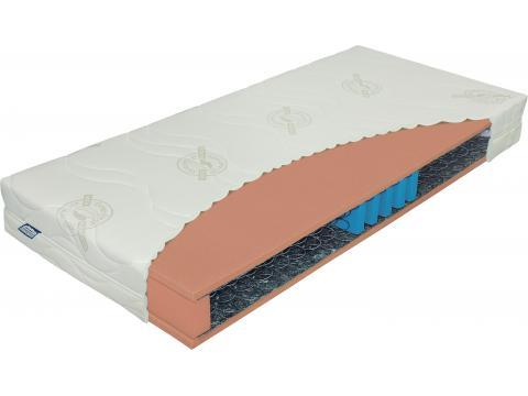Materasso Klasik Bio Lux 5 Ortoped 90x200 cm bonell rugós matrac, Kategória:Rugós matracok, Szélesség:90cm Hosszúság:200cm Magasság:19cm