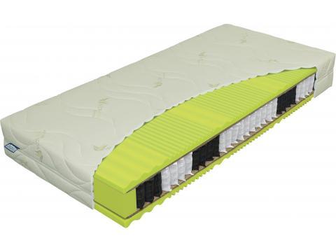 Materasso Primator Bio Ex Royal 90x200 cm táskarugós matrac, Kategória:Táskarugós matracok, Szélesség:90cm Hosszúság:200cm Magasság:22cm