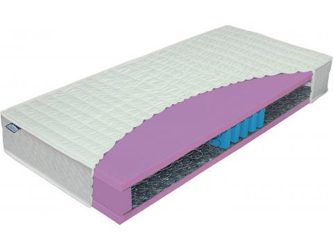 Materasso Serial Bio Lux 5 Ortoped 100x200 cm bonell rugós matrac, Kategória:Rugós matracok, Szélesség:100cm Hosszúság:200cm Magasság:22cm