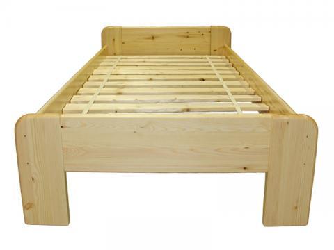 Minimál ágykeret + borda 90x200, Kategória:Fenyő ágyak, Szélesség:90cm Hosszúság:200cm Magasság:cm