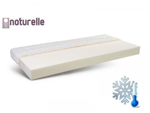 Naturelle Eco 200x200 cm hideghab matrac Cool Plus huzattal, Kategória:Hideghab matracok, Szélesség:200cm Hosszúság:200cm Magasság:16cm