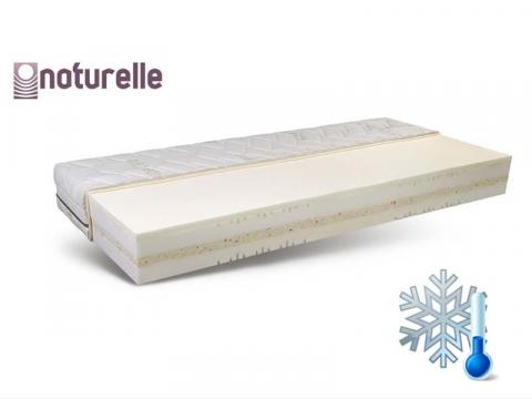 Naturelle Opus 100x200 cm memory matrac Cool Plus huzattal, Kategória:Memory matracok, Szélesség:100cm Hosszúság:200cm Magasság:23cm