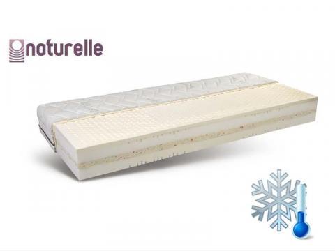 Naturelle Spirit 160x200 cm latex biomatrac Cool Plus huzattal, Kategória:Bio matracok, Szélesség:160cm Hosszúság:200cm Magasság:23cm