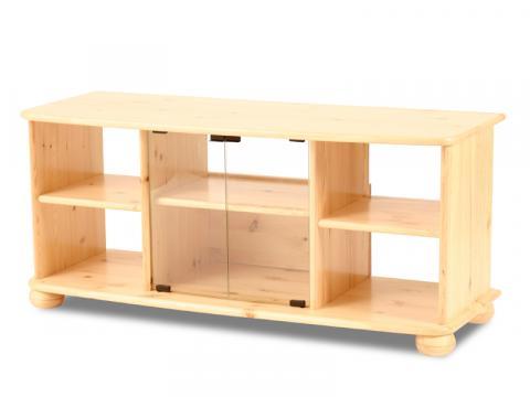 Claudia TV állvány széles, Kategória:Egyéb bútorok, Szélesség:125cm Hosszúság:45cm Magasság:55cm