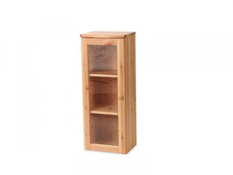 Claudia 1 ajtós üveges felsőelem, Kategória:Egyéb bútorok, Szélesség:103cm Hosszúság:40cm Magasság:35cm