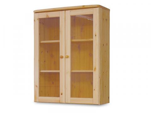 Claudia 2 ajtós üveges felsőelem, Kategória:Egyéb bútorok, Szélesség:35cm Hosszúság:80cm Magasság:103cm
