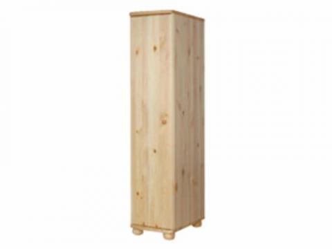 Claudia félszekrény polcos 45 mély, Kategória:Fenyő szekrények, Szélesség:40cm Hosszúság:45cm Magasság:180cm