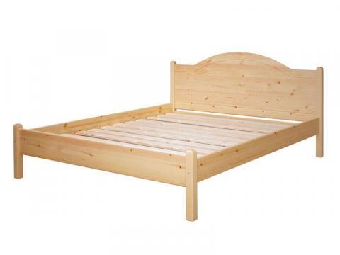 Emese ágykeret 90 natúr,lakkozott,festett, Kategória:Fenyő ágyak, Szélesség:90cm Hosszúság:200cm Magasság:92cm