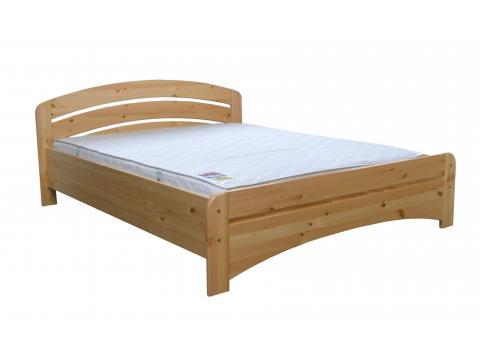 Gála ágyneműtartós 90x200 pácolt fenyő ágykeret, Kategória:Ágyneműtartós ágyak, Szélesség:90cm Hosszúság:200cm Magasság:cm