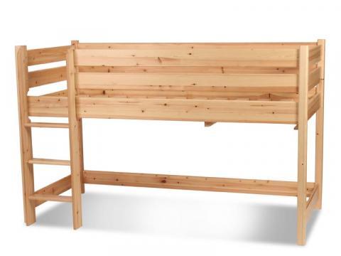 Leo emelt ágy, Kategória:Emeletes és galériaágyak, Szélesség:90cm Hosszúság:200cm Magasság:130cm