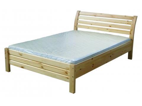 Lola ágyneműtartós 90x200 pácolt fenyő ágykeret, Kategória:Ágyneműtartós ágyak, Szélesség:90cm Hosszúság:200cm Magasság:cm