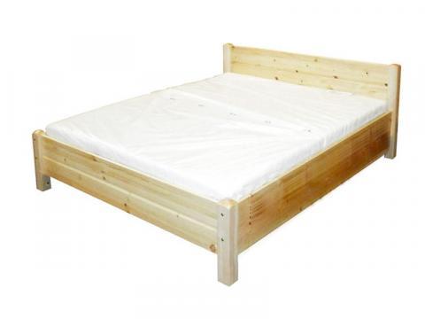 Luca 90x200 natúr fenyő ágykeret, Kategória:Fenyő ágyak, Szélesség:90cm Hosszúság:200cm Magasság:cm