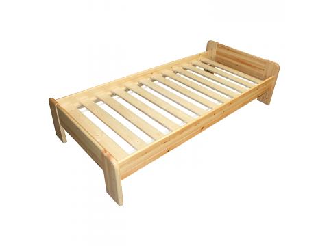 Minimál ágykeret 2.0, Kategória:Fenyő ágyak, Szélesség:90cm Hosszúság:200cm Magasság:cm