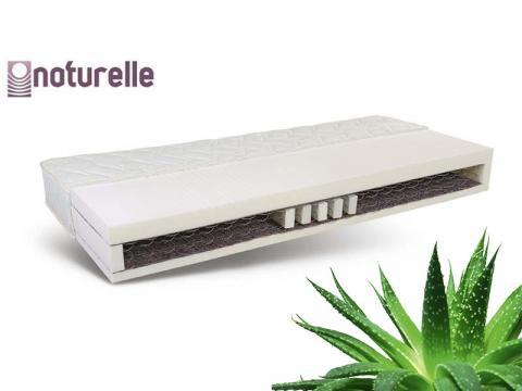 Naturelle BN Plus Ergo bonell rugós matrac 2,2-es rugóval Aloe Vera huzattal, Kategória:Rugós matracok, Szélesség:80cm Hosszúság:200cm Magasság:24cm