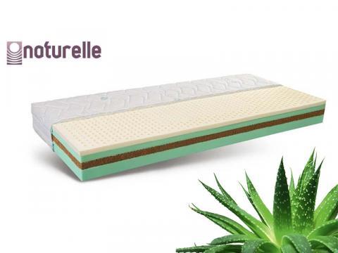 Naturelle Promise latex biomatrac Aloe Vera huzattal, Kategória:Bio matracok, Szélesség:80cm Hosszúság:200cm Magasság:21cm