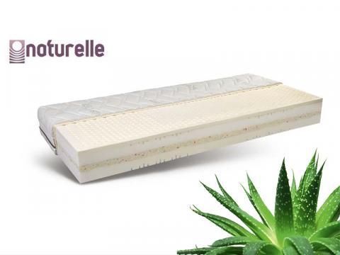 Naturelle Spirit latex biomatrac Aloe Vera huzattal, Kategória:Bio matracok, Szélesség:80cm Hosszúság:200cm Magasság:23cm