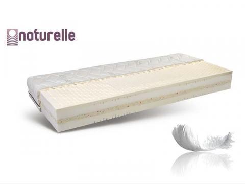 Naturelle Spirit latex biomatrac Soft & Fresh huzattal, Kategória:Bio matracok, Szélesség:80cm Hosszúság:200cm Magasság:23cm