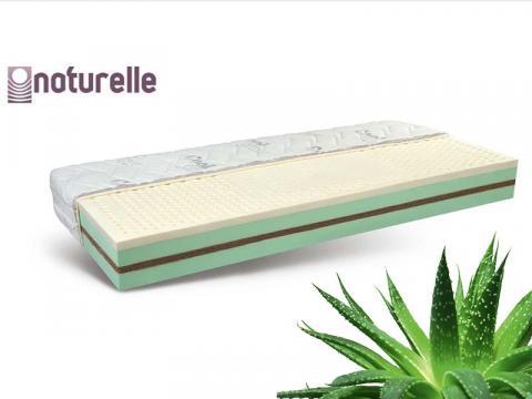 Naturelle Vital latex biomatrac Aloe Vera huzattal, Kategória:Bio matracok, Szélesség:80cm Hosszúság:200cm Magasság:23cm
