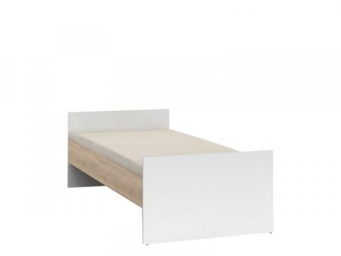 Nepo LOZ/90 A (BEZ WKŁADU, BEZ MATERACA) ágy, Kategória:Ágykeretek, Szélesség:90cm Hosszúság:200cm Magasság:66cm