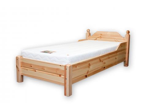 Riva ágyneműtartós fenyő ágykeret 90cm, Kategória:Fenyő ágyak, Szélesség:90cm Hosszúság:200cm Magasság:75cm