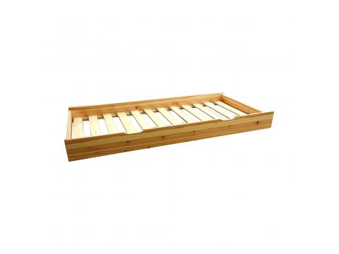 Vendégágy Vanessa kihúzható ágy alá, Kategória:Fenyő ágyak, Szélesség:74cm Hosszúság:184cm Magasság:cm