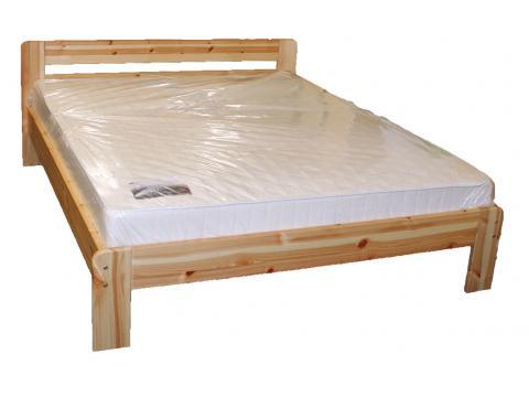 Viki natúr fenyő ágykeret, Kategória:Fenyő ágyak, Szélesség:140cm Hosszúság:200cm Magasság:cm