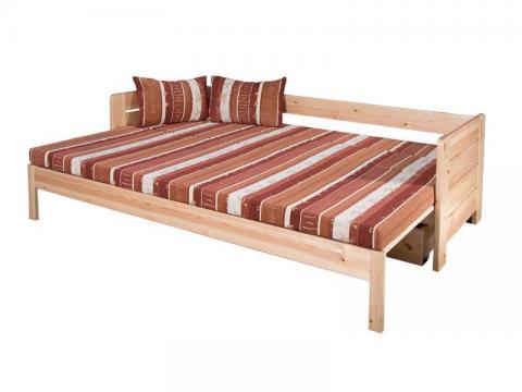 Vanessa kihúzható ágy, Kategória:Kanapéágyak, Szélesség:80cm Hosszúság:200cm Magasság:cm