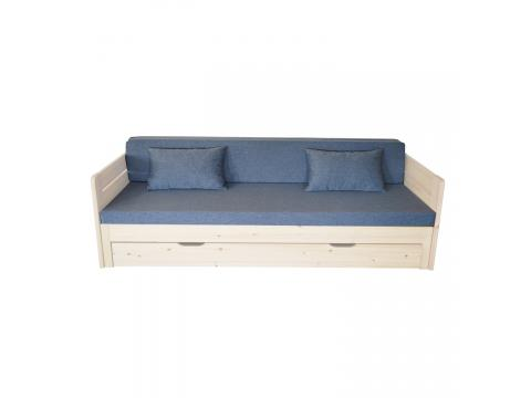 Vanessa kihúzható ágyra Lux Rozsda, Kategória:Szivacs matracok, Szélesség:80cm Hosszúság:200cm Magasság:8cm