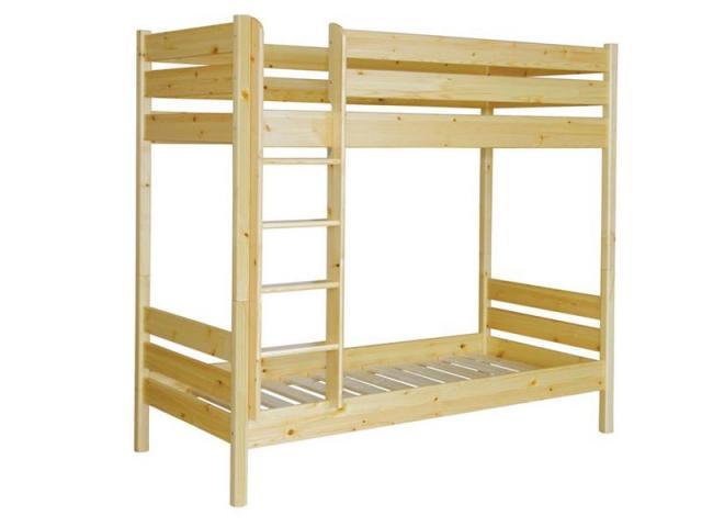 Leo emeletes ágy, Kategória:Emeletes és galériaágyak, Szélesség:90cm Hosszúság:200cm Magasság:cm