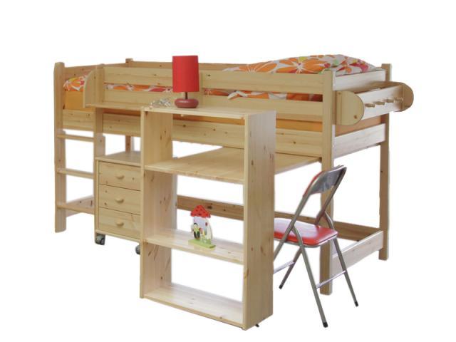 Leo emelt ágy, Kategória:Emeletes és galériaágyak, Szélesség:90cm Hosszúság:200cm Magasság:cm