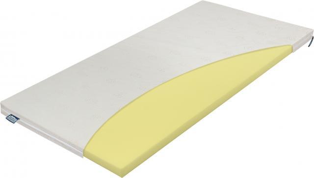 Materasso Top Termopur - Latex 4 fix huzatos felületjavító 80x200 cm topper, Kategória:Fedőmatracok, Szélesség:80cm Hosszúság:200cm Magasság:4cm